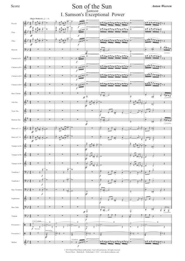 son of the sun - harmonieorkest