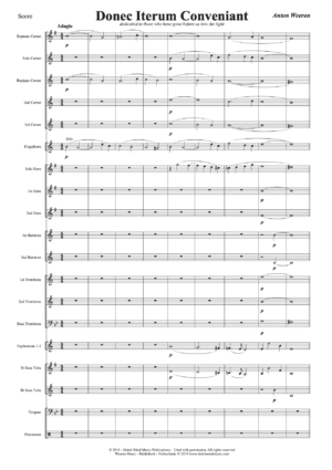 Donec Iterum Conveniant - Anton Weeren - harmonie, fanfare, brassband