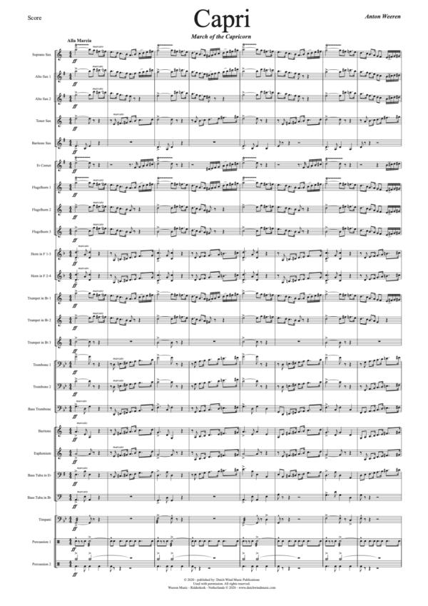 Capri Fanfare Orkest