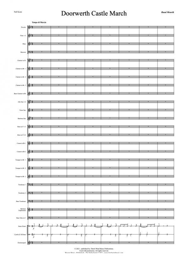 Doorwerth Castle March Harmonieorkest