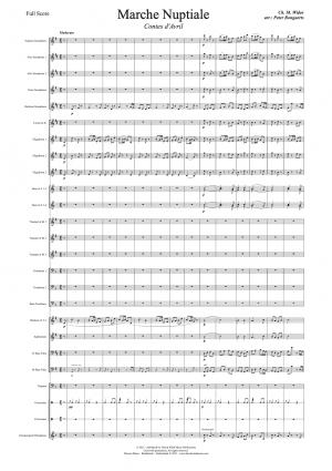 Marche Nuptiale Fanfareorkest